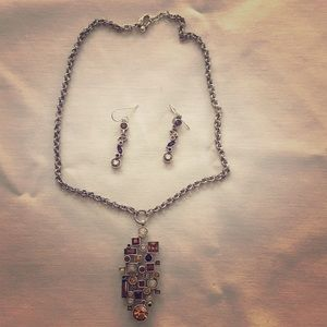 Jewelry - Patricia Locke necklace and earring set